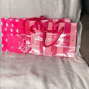 Victoria secrets shopping bags